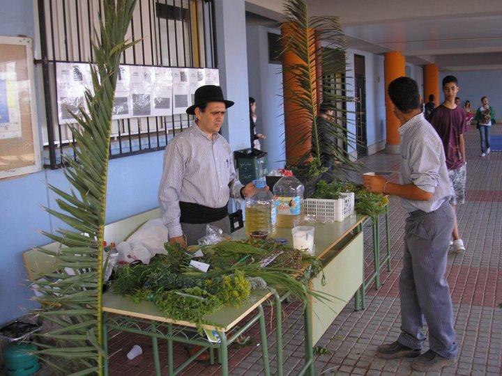 TALLER DE PLANTAS MEDICINALES EN EL DIA DE CANARIAS