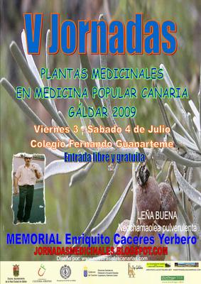 V JORNADAS DE PLANTAS MEDICINALES EN GÁLDAR