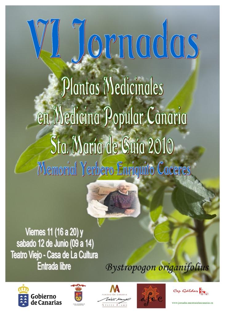 VI  JORNADAS DE PLANTAS MEDICINALES