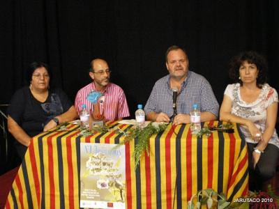 Primer día de las VI Jornadas de Plantas Medicinales en Guia