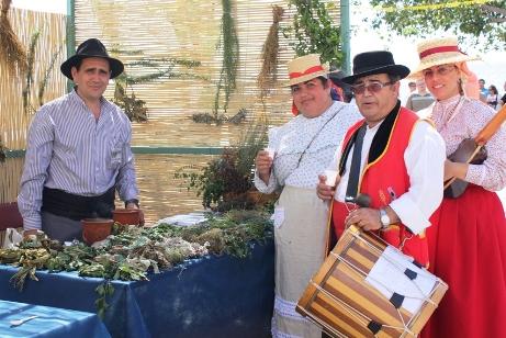 FIESTA CANARIA  EN LOS ABRIGOS  EN GRANADILLA DE ABONA