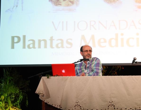 VII JORNADAS DE LAS PLANTAS MEDICINALES, PONENCIA DE DON JORGE CRUZ SUARES